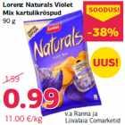 Allahindlus: Lorenz Naturals Violet Mix kartulikrõspud, 90 g
